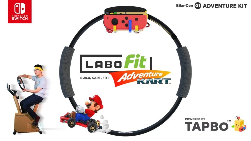 """Random: Introducing The Labo Fit Adventure Kart Kit, A """"Total-Body"""" Exercise For Switch"""