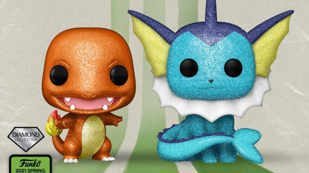 Diamond Variant Charmander And Vaporeon Funko Pops Confirmed For Emerald City Comic-Con