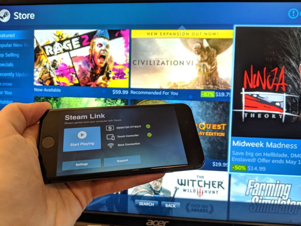 Steam Remote Play Together now works with people who don't have Steam