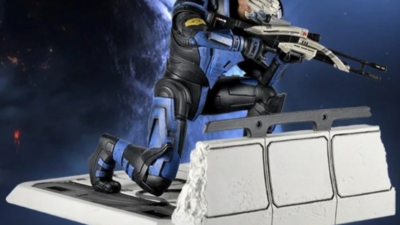 New Garrus Vakarian Statue Is Available To Pre-Order Ahead Of Mass Effect Legendary Edition