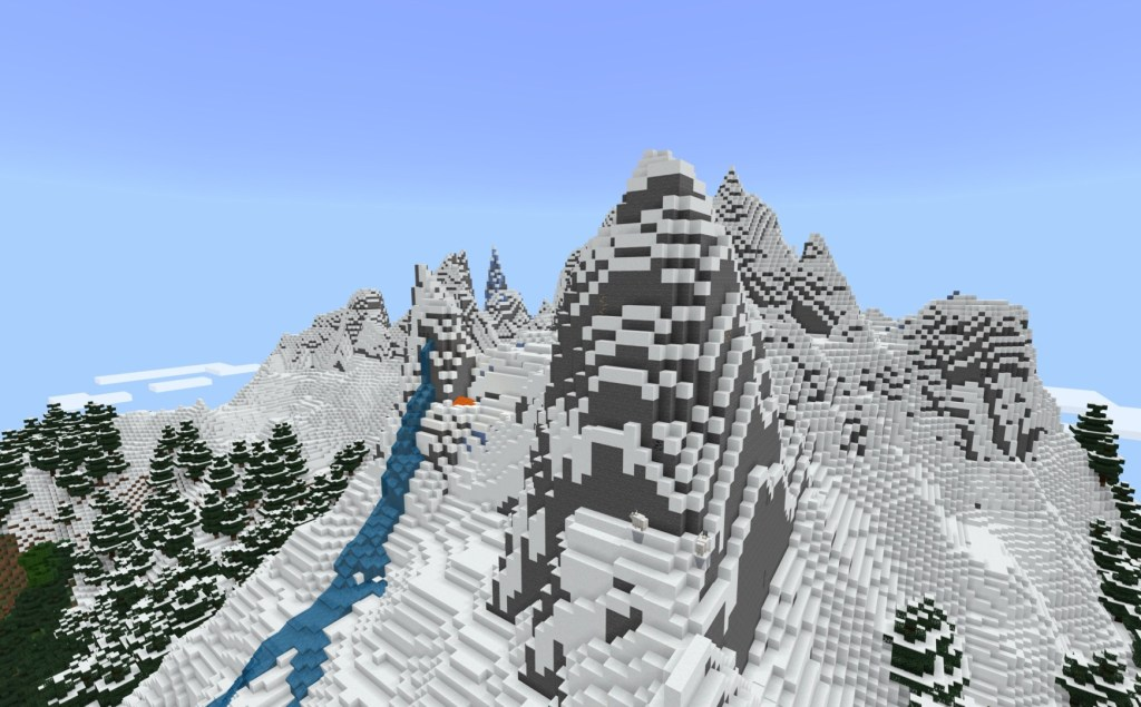 Minecraft mountain generation gets a boost with new biomes