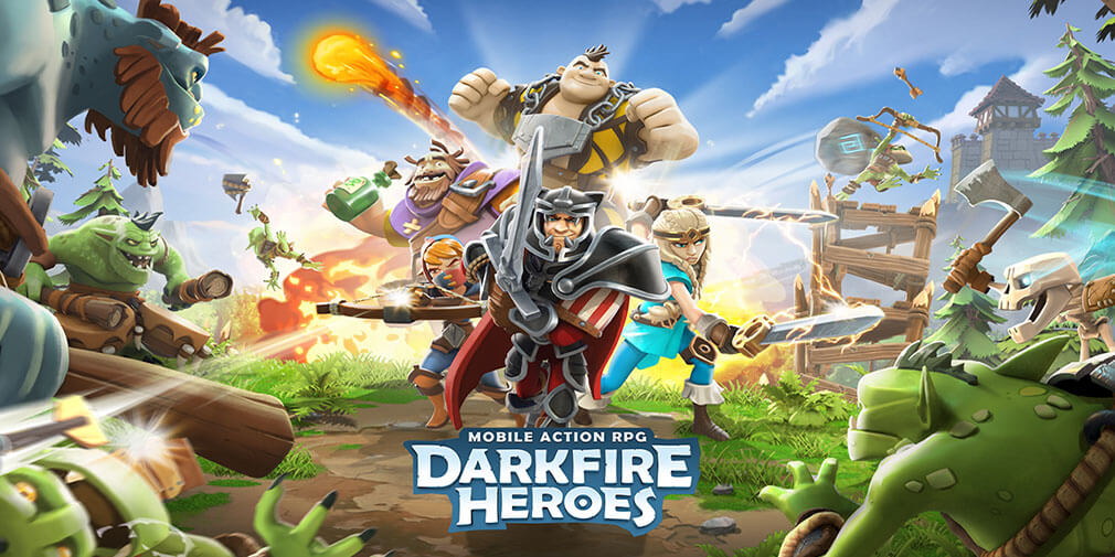 """Darkfire Heroes preview - """"Collecting heroes and slinging spells"""" 