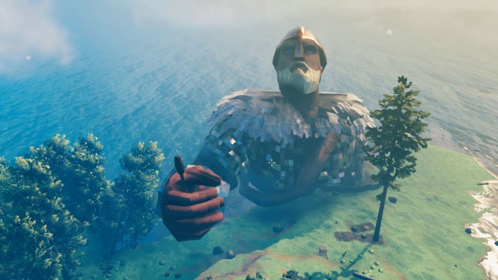 This essential Valheim mod turns you into a freakishly huge Viking