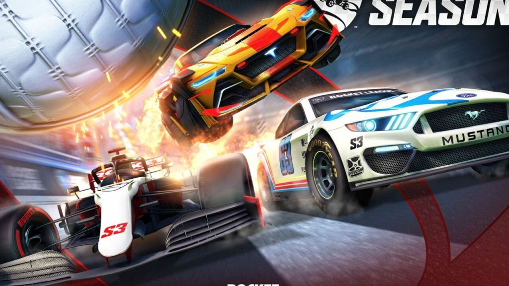 NASCAR, F1 Speed into Rocket League Season 3 Next Month