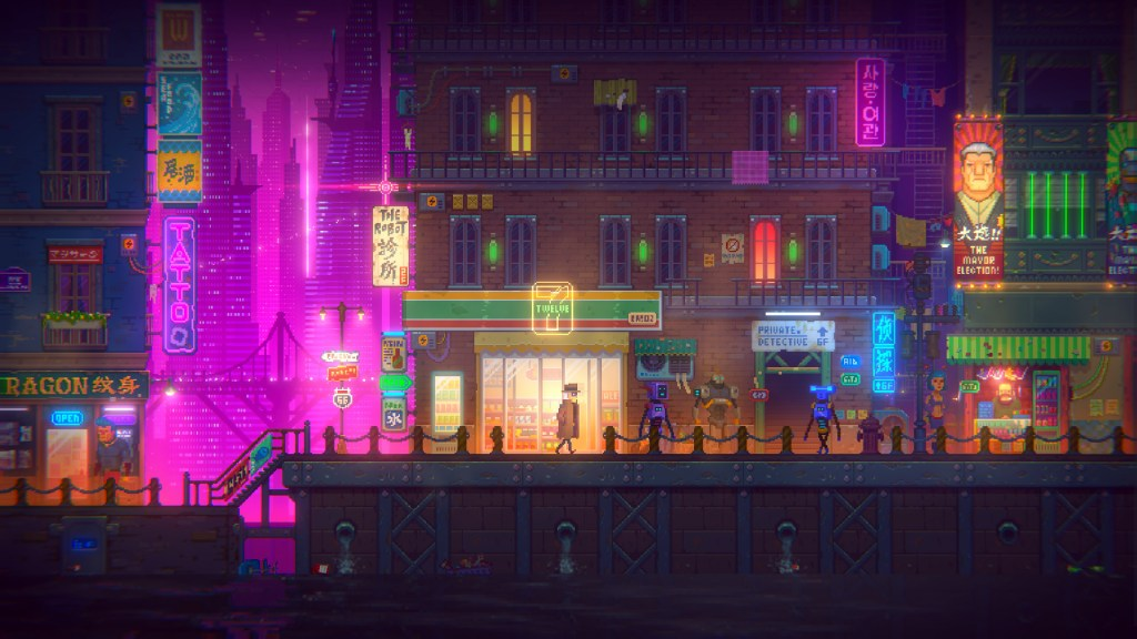 Grab Tales of the Neon Sea for free on the Epic Games Store