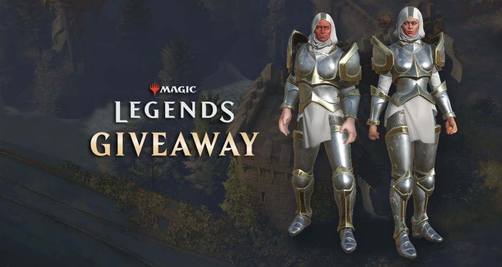 Take an exclusive Crusader Armor Pack for Magic: Legends