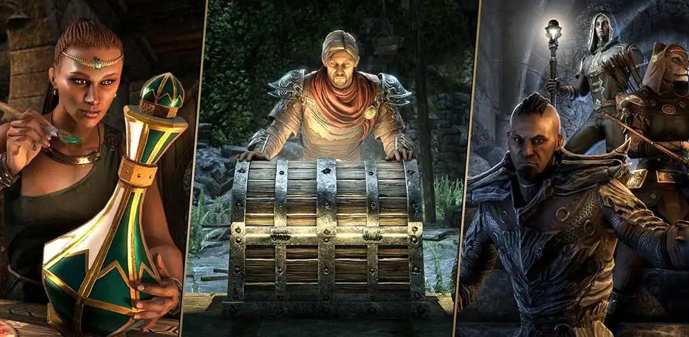 The Elder Scrolls Online will soon use in-game currency for loot box items