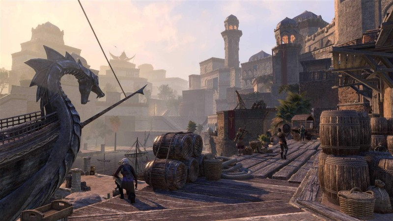 The Elder Scrolls Online Is Coming To PS5 And Xbox Series X With New-Gen Enhancements