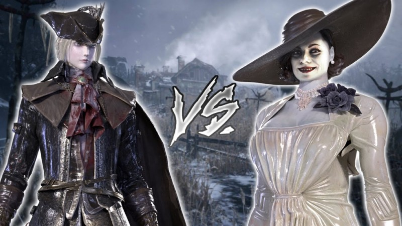 Resident Evil Village And Bloodborne Collide With This Lady Dimitrescu Mod