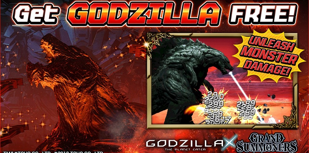 Grand Summoners: Everything you need to know about the upcoming Godzilla collab   Articles