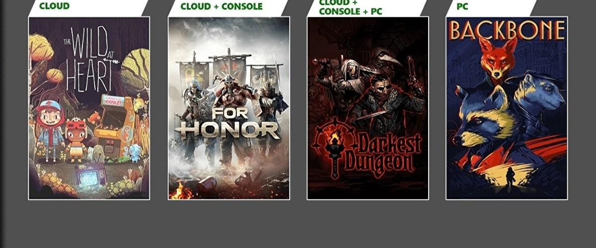 Backbone, For Honor, and Darkest Dungeon coming to Xbox Game Pass in June • Eurogamer.net
