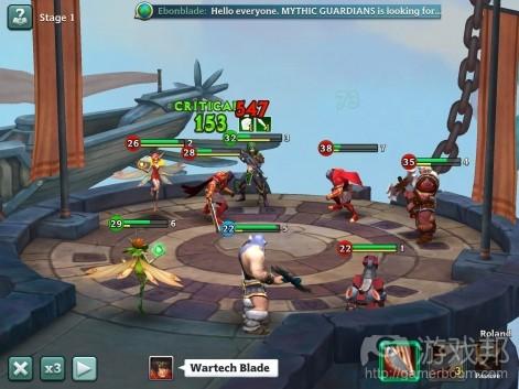 Alliance: Heroes of the Spire(from pocketgamer.biz)