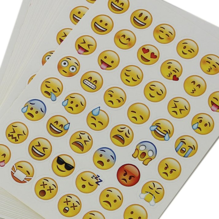 Emoji bullet journal stickers