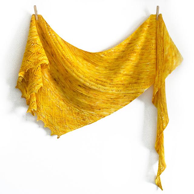 Sunkota shawl by Daria Sorokina