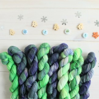 Sparkle sock yarn advent calendar
