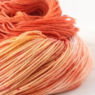 Unbowed, Unbent: variegated sock yarn