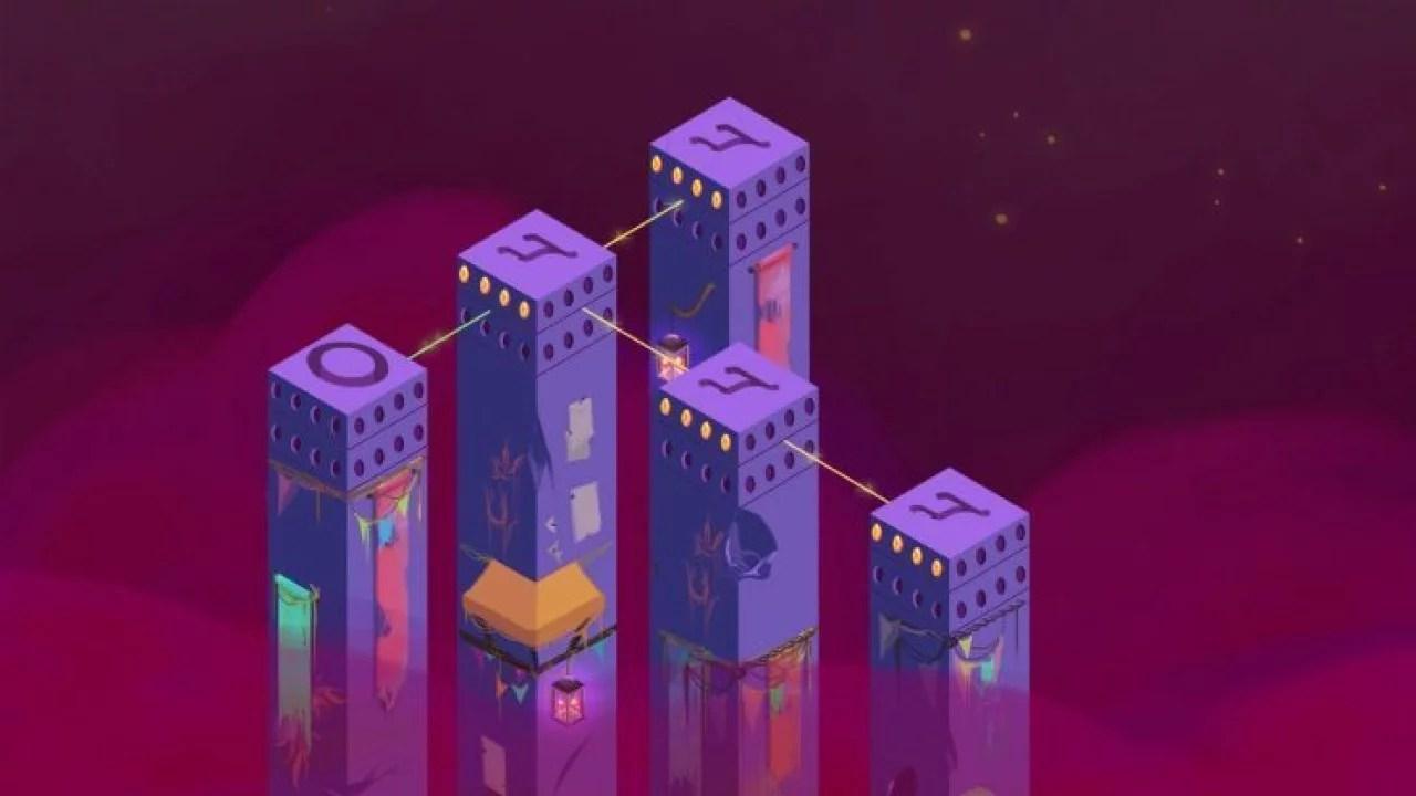 """""""Mystic Pillars"""" resolva quebra-cabeças de gemas para contar a história de um reino"""