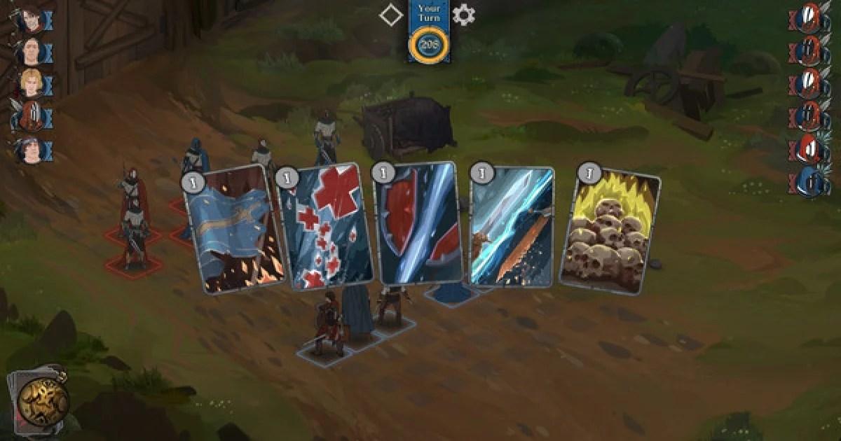 """""""Ash of Gods: Arena"""" combate tático baseados em turnos"""
