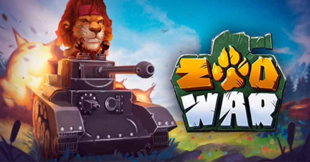 """""""Zoo War"""" batalhe com animais em tanques de guerra"""