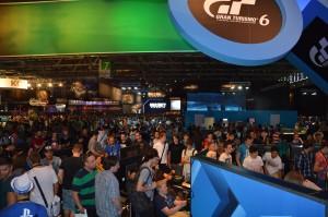 la foule à la Gamescom