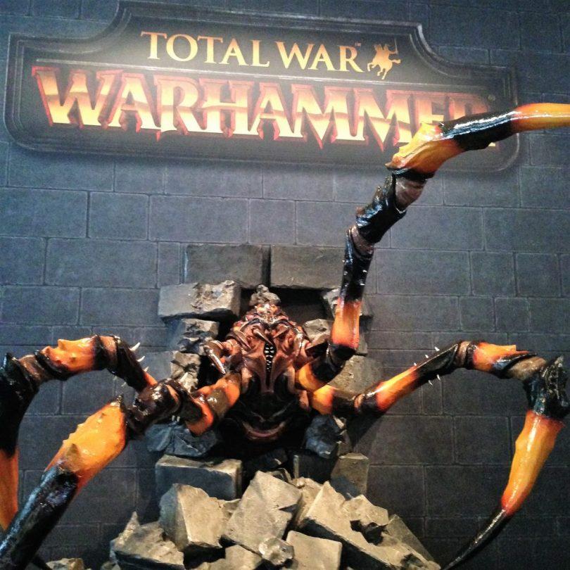 le stand Total War : Warhammer à la gamescom 2015