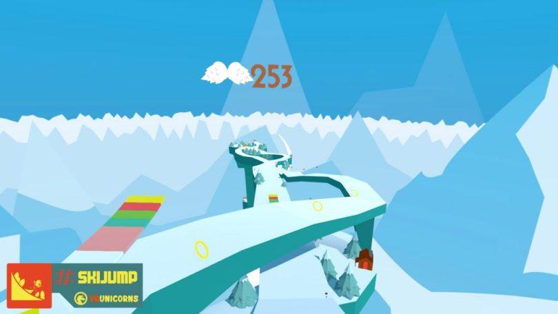 #SkiJump Screenshot Slope 2