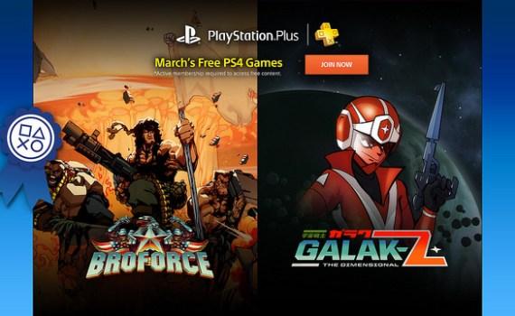 PlayStation Plus de Março 2016