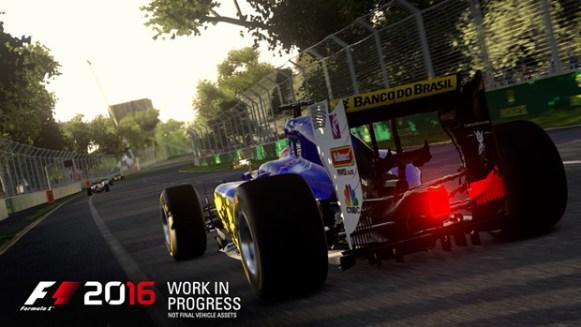 F1 2016 Sauber