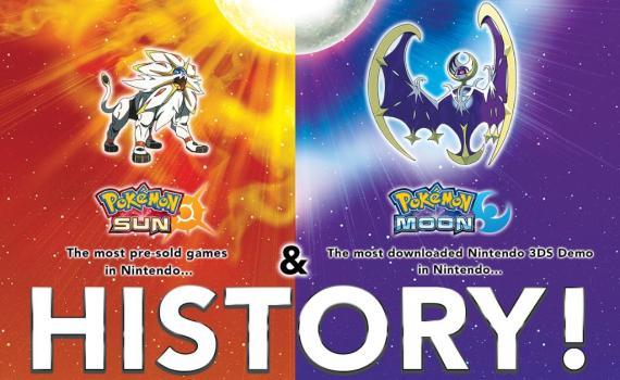 Recorde de Pokémon Sun & Moon