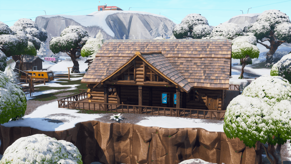 Wooden Cabin in Lonely Lodge, Fortnite Season 7