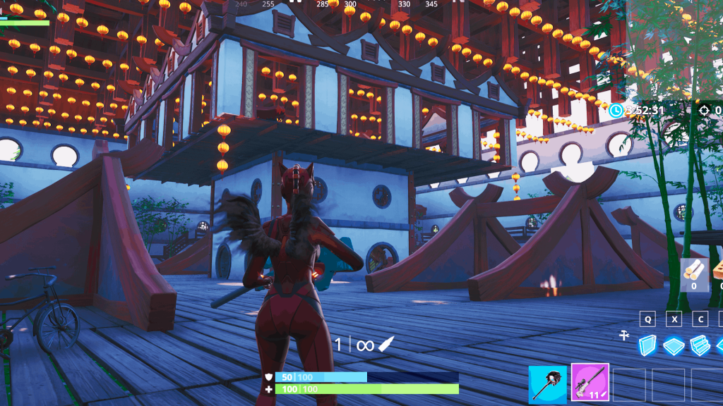 fortnite sniper only creative map code sniper only creative map chinatown arena - fortnite trickshot map code