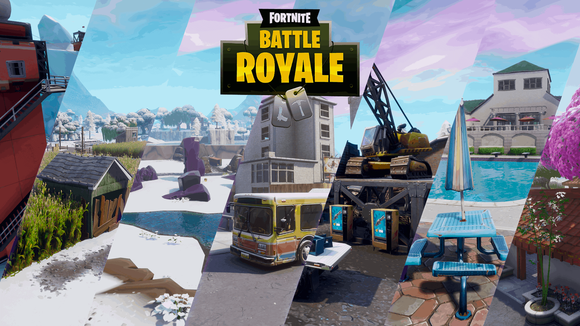 Fortnite All Map Locations Screenshots Season 7