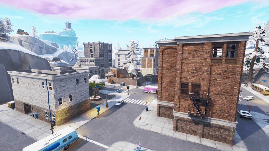 Buildings in Tilted Towers, Fortnite season 7