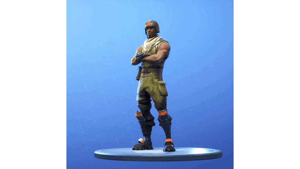 Aerial Assault Trooper skin in Fortnite