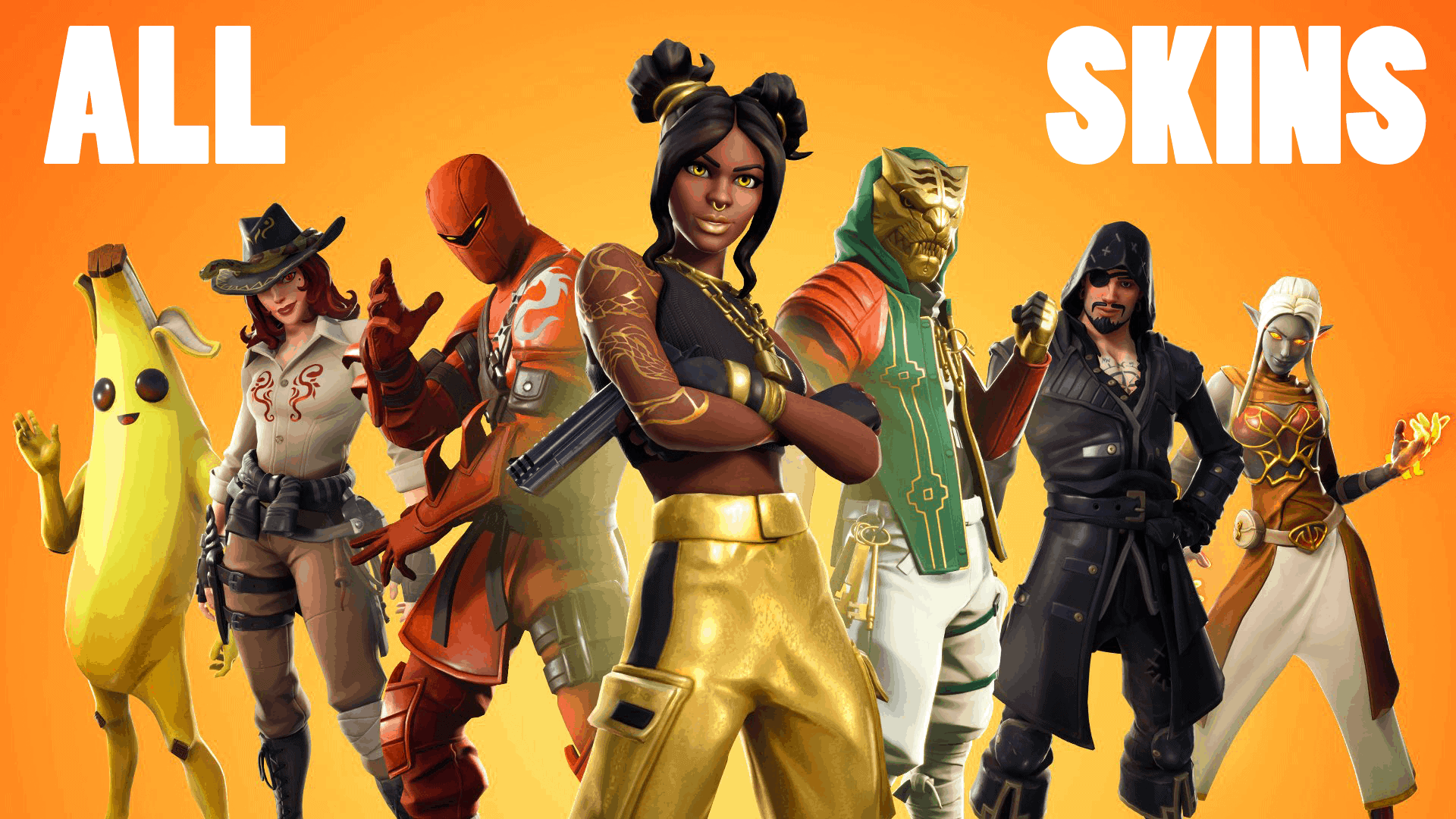 All New Skins & Styles In Fortnite Season 8