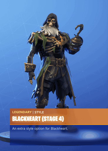 Fortnite Blackheart skin stage 4 season 8 battle pass