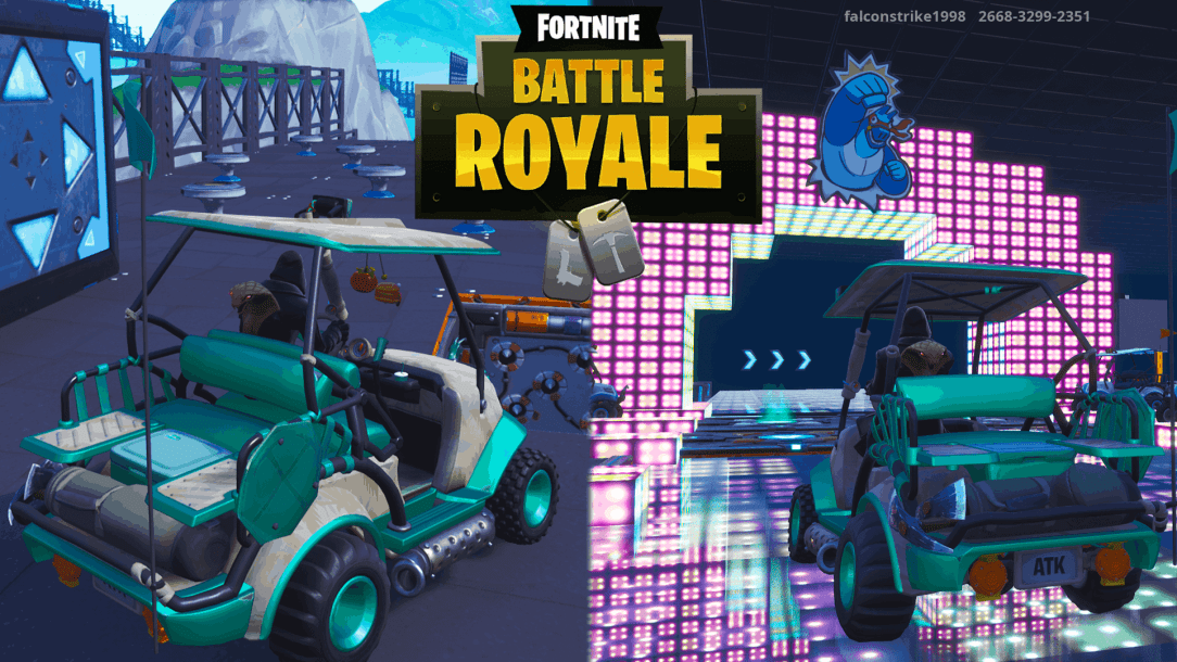 Fortnite race track map codes