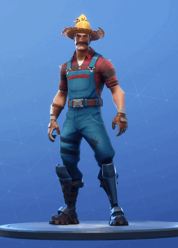 Hayseed skin Fortnite season 8