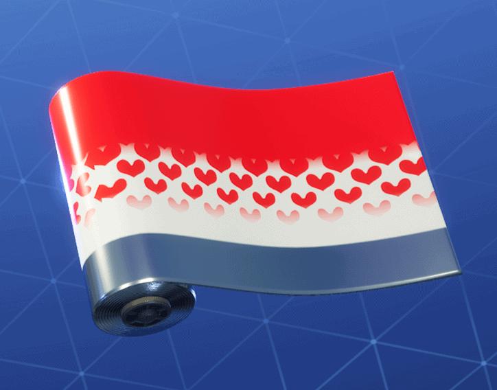 Hearts Wild Card weapon wrap Fortnite season 8