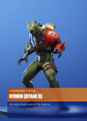 Fortnite Hybrid skin stage 3 season 8 battle pass