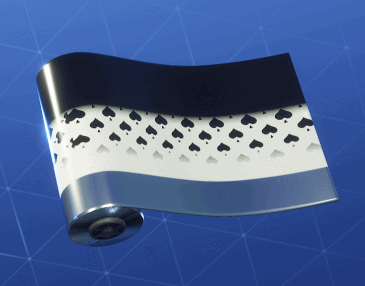 Spades Wild Card weapon wrap Fortnite season 8