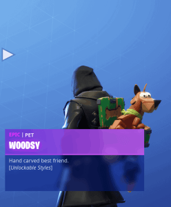 Tier 19 Woodsy back bling