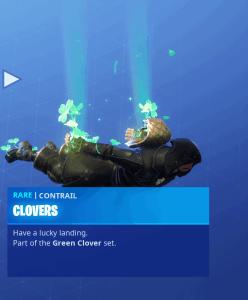 Tier 21 Clovers contrail