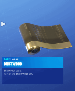 Tier 28 Driftwood wrap