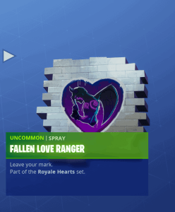 Tier 54 Fallen Love Ranger spray