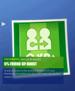 Tier 57 5% friend XP boost
