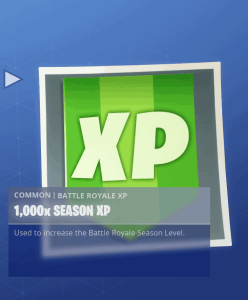 Tier 61 1000x season XP