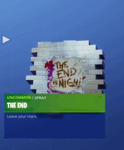 Tier 62 The End spray