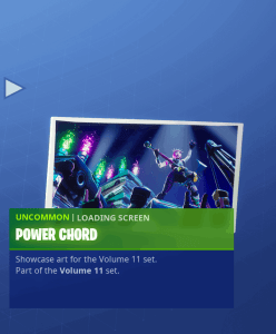 Tier 74 Power Chord loading screen