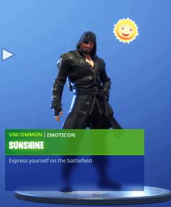 Tier 8 Sunshine emoticon